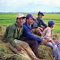 Young Rice Farmers by Silva Wischeropp