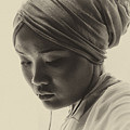 Young Woman In Turban by Sheila Smart Fine Art Photography