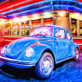 Your Chariot Awaits - Classic Vw Beetle by Mark Tisdale