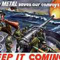 Your Metal Saves Our Convoys by War Is Hell Store