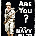 Your Navy Needs You This Minute by War Is Hell Store
