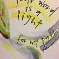 Your Word Is A Light by Vonda Drees