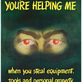 You're Helping Me When You Steal Equipment by War Is Hell Store