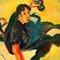 Youth With Spray Paint by Bob Dornberg