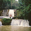 Ys Falls Jamaica by Debbie Levene