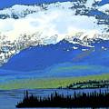 Yukon Mountain Range 3 by Chris Taggart