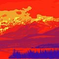 Yukon Mountain Range 4 by Chris Taggart