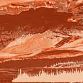 Yukon Mountain Range 5 by Chris Taggart