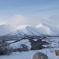 Yukon Snow Scene Mystic by Phyllis Spoor