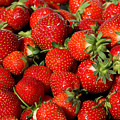Yummy Fresh Strawberries by Teresa Zieba