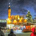 Yury Bashkin Tallinn New Year by Yury Bashkin