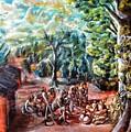 Thanks-giving In A Sacred Shrine by Mbonu Emerem