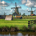 Zaanse Schans And Farm by James Udall