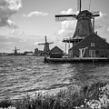 Zaanse Schans Windmills by James Udall
