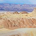 Zabriski Point Panoramic by Tranquil Light Photography