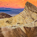 Zabriskie Point Sunrise Death Valley by Pierre Leclerc Photography