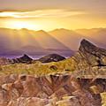 Zabriskie Sunset by Greg Clure