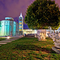 Zadar Historic Square Evening View by Brch Photography
