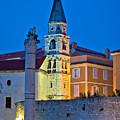 Zadar Landmarks Evening Vertical View by Brch Photography