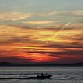 Zadar Sunset by Deborah Brodie