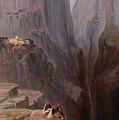 Zagori. Greece by Edward Lear