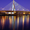 Zakim At Twilight II by Rick Berk