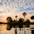 Zambezi Sunset by Delphimages Photo Creations