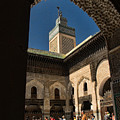 Zaouia El Tijaniya Mosque In Fes Morroco by David Smith