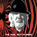 Zebra Blues Man by Philip Butta