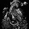 Zebra Hippocampus by Stanley Morrison
