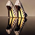 Zebra Print Stiletto by Terri Waters