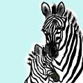 Zebras by Carole Boyd