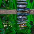 Zen Art And Reflections By Kaye Menner by Kaye Menner