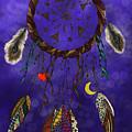 Zentangle Dreamcatcher by Becky Herrera
