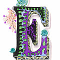 Zentangle Inspired E #4 by Eric Strickland