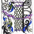 Zentangle Inspired I #2 by Eric Strickland