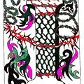 Zentangle Inspired I by Eric Strickland