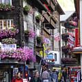 Zermat Switzerland by Angel Ortiz