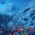 Zermatt With Matterhorn by Brian Jannsen