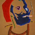 Brown Zig Zag Man by Stormm Bradshaw