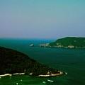 Zihuatanejo Harbor by Gary Wonning