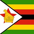 Zimbabwe Flag by Otis Porritt