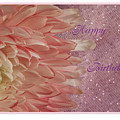 Chrysanthemum Birthday by Donna Crider