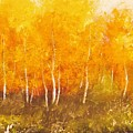 Zion Autumn by Anahid Minatsaghanian