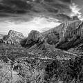 Zion In Black And White by Rick Yenofsky