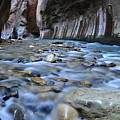 Zion National Park Narrows by Dean Hueber