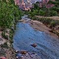 Zion National Park by Peggy Hughes