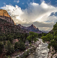 Zion National Park Sunset  by John McGraw