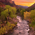Zion National Park The Watchman by Dean Hueber