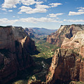 Zion Valley From Observation Point - Color by Steven Wilson